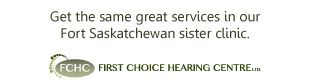 Get the same great services in our Fort Saskatchewan sister clinic.